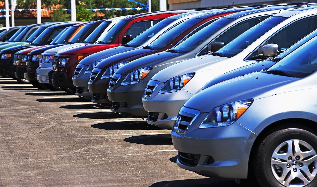 top ten best selling used cars